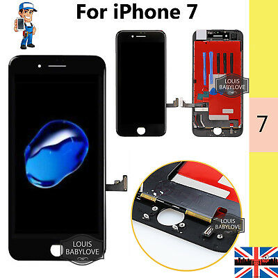 Replacement For iPhone 7 LCD Screen Digitizer Touch Display Assembly Black 4.7""