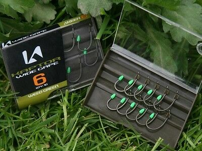 Korda Kaptor Hooks All Types All Colours Barbed Barbless Carp Fishing Tackle