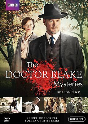 BBC: The Doctor Blake Mysteries: Second Season 2 Two (DVD, 2016, 3-Disc Set) New