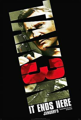 TAKEN 3 27x40 Original Double Sided D/S Movie Poster - Liam Neeson, Maggie Grace