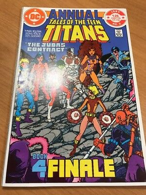 Tales Of The New Teen Titans #3 VF/NM ANNUAL  1984   DC Comics