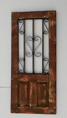 Decorative Wooden Door Window Panel 33 1/2""