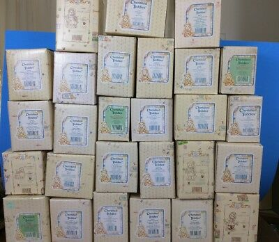 Cherished Teddies - Lot of 27 - Japan, Canada  + More - With Boxes - #6