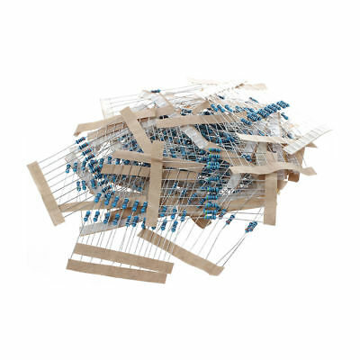 1/4w 5% Metal Film Resistor Kit 400X 40 Values Assortment/Pack/Mix/Selectio K1U2