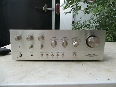 Onkyo A-7 Integrated Amp -  Solid 7.5/10 Looks 10/Sounds - Restored And Ready!