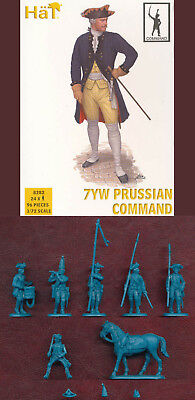 "1:72 Figuren 8282 7Yw Prussian Infantry ""command"" - Hät"