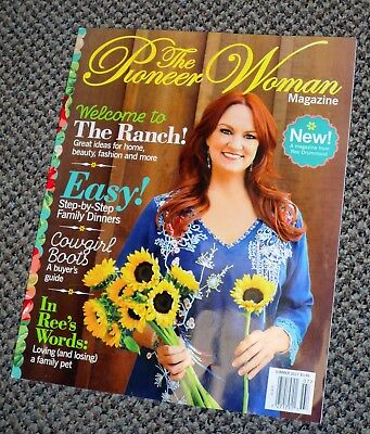 The Pioneer Woman Magazine Fall 2017 New Magazine Unread