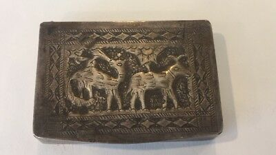 Sterling Silver Antique Box