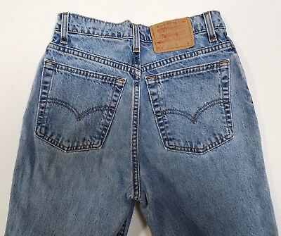 VINTAGE Levi's 512 Jeans Women's High Waisted, Slim Fit Tapered Leg, Size 9 Long