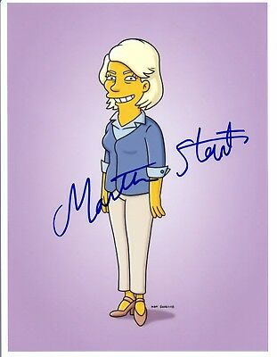Martha Stewart Signed Autographed 8x10 Photo THE SIMPSONS COA VD