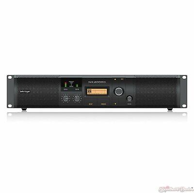 Behringer NX3000D 3000-Watt Stereo Power Amplifier with DSP Control