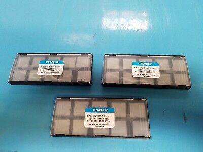SPG 632 C5 Tracker *UNCOATED* Solid Carbide Inserts /LOT OF 30Pcs NEW