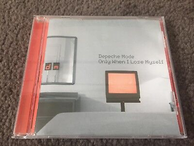 Depeche Mode Only When I Lose Myself Limited Edition Cd Single 1998