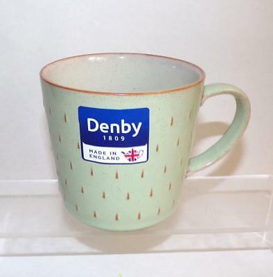 Denby Pottery Heritage Orchard Green Cascade Pattern Mug made in Stoneware