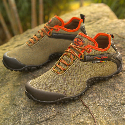 Men's Hiking Shoes Outdoor Travel Sneakers Running Casual Athletic Sports