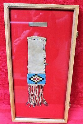 Authentic 19th Century Northern Plains Sioux Tobacco Bag