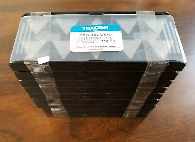 10 Pcs New TPU 432 C550 Tracker *UNCOATED* Solid Carbide Inserts