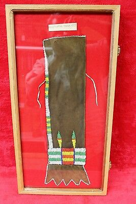 Authentic Northern Plains Cheyenne Beaded Pipe Bag