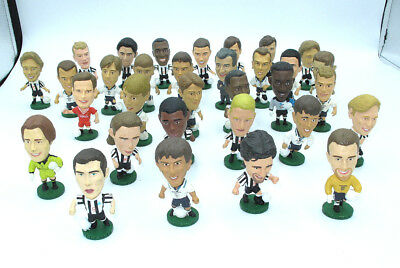 Vintage Corinthian Football players figures lot of 32