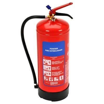 12kg Truck and Marine Powder Fire Extinguisher - Gloria PD12GA