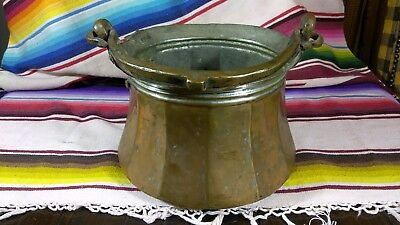 Antique Dove Tailed Copper Kettle