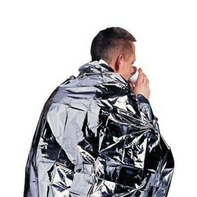 Disposable Thermal Heat Retaining Foil Emergency Survival Blanket