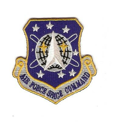 + STARGATE SG-1 Aufnäher Patch AIR FORCE SPACE COMMAND