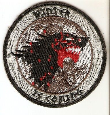 + GAME OF THRONES Aufnäher Patch WINTER IS COMING