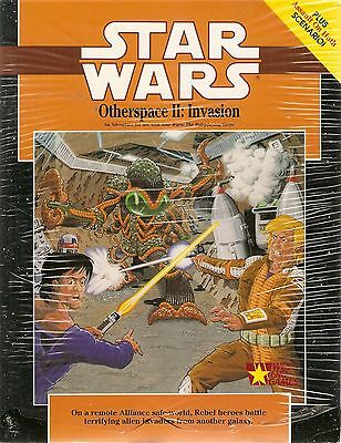 STAR WARS Roleplaying Game West End Games OTHERSPACE II. INVASION (Adventure)