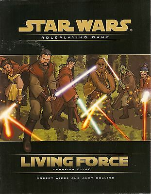 STAR WARS Roleplaying Game Wizards o.t.C.  LIVING FORCE Campaign Guide