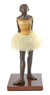 Degas Fourteen Year Old Little Dancer Ballerina Fabric Tutu Netting Skirt 13.5H