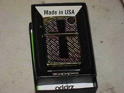 New ZIPPO USA Windproof Oil Lighter Christian Color Spectrum Cross Jesus Christ