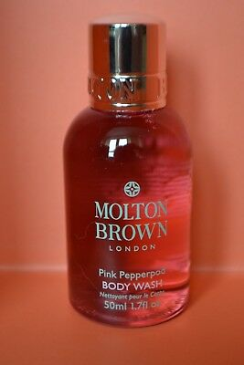 Molton Brown Pink Pepperpod body wash travel size 50ml RRP 300ml £20