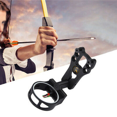 3-Pin Archery Arrow Sight Fiber Optic 0.029'' Compound Bow Hunting Shooting