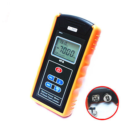 650nm TL-560 Optical Power Meter & 10mW Visual Fault Locator for Fiber Optical
