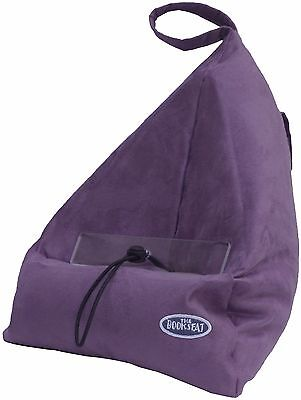 The Original Book Seat Handsfree Book Tablet and iPad Holder - Purple Bookseat