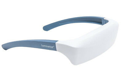 SAD Bright Light Therapy Glasses ON-THE-GO EQUIVALENT TO A 10,000 LUX LAMP