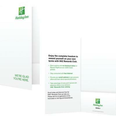 Holiday Inn Check-In Folder Package Of 1000