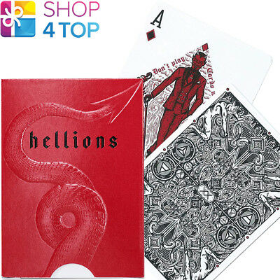 Ellusionist Madison Hellions Playing Cards Deck Magic Bicycle Tricks Uspcc New