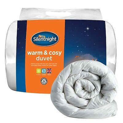 Silentnight Warm And Cosy 13.5 Tog Duvet King White