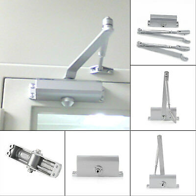 45-60KG Durable Aluminum Commercial Door Closer Two Independent Valves Control