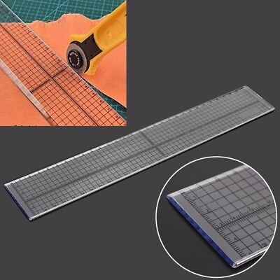 30cm Sewing Patchwork Foot Aligned Ruler Quilting Grid Cutting Tailor Craft Tool