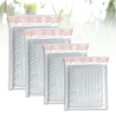 10x Newest Poly Padded Air Bubble Letter Envelopes Postal Mailers Shipping Bags