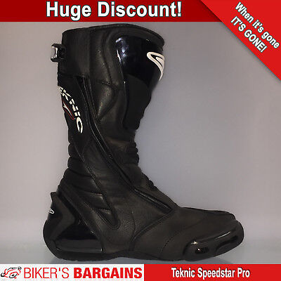 Teknic Speedstar Pro Boots Black - Was £249.99 - *Now £99.99* - 60% Off!