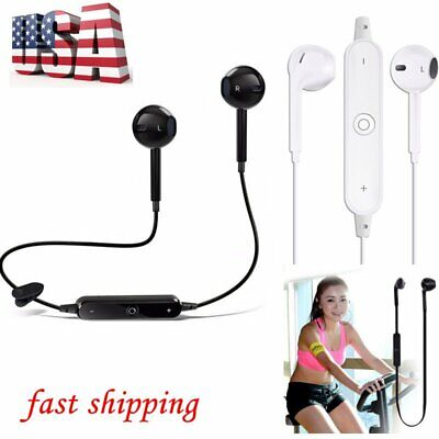 Wireless Bluetooth Headset Stereo Headphone Earphone Sport for iPhone Samsung US