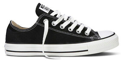 Converse Chucks Low Ox Schwarz M9166 Black All Star