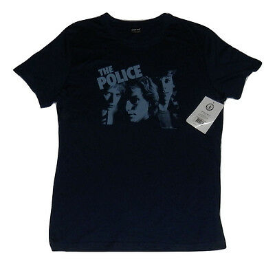 NEW! Authentic Licensed The Police Band TShirt - 100% Cotton Size L BNWT