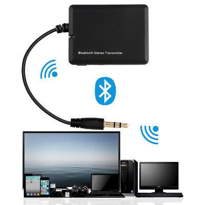 3,5 Bluetooth A2DP Stereo Audio Adapter Dongle Sender Transmitter für TV PC MP3