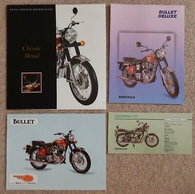 Royal Enfield Motorcycle Brochures