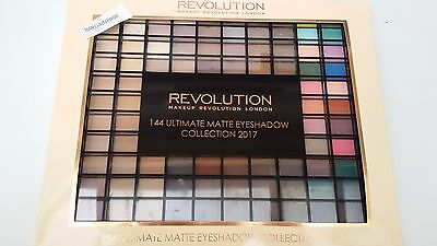 Makeup Revolution 144 Ultimate Matte Eyeshadow Palette Collection 2017